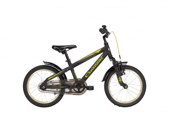 """Munin 16"""" etuj. lasten polkupyörä (1-v, musta)"""
