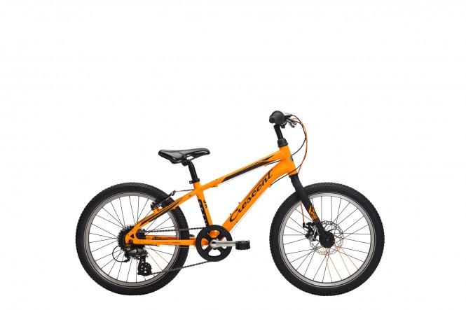 Team Jr, 20 lasten polkupyörä (8-v, oranssi)