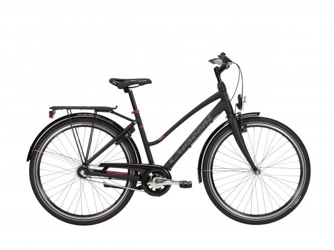Embla, 26 nuorten polkupyörä (3-vaihteinen, Musta)