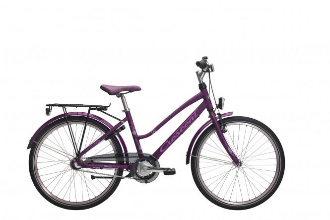 "Ran 24"" nuorten polkupyörä (Nexus 3-v, lila)"