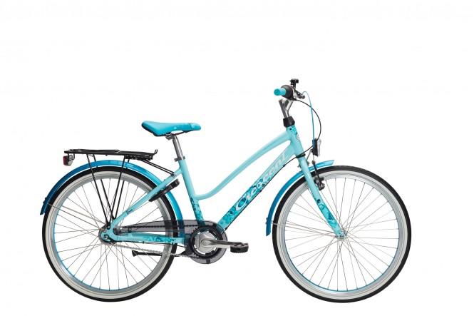 Lone, 24 nuorten polkupyörä (nexus 7-v, turkoosi)