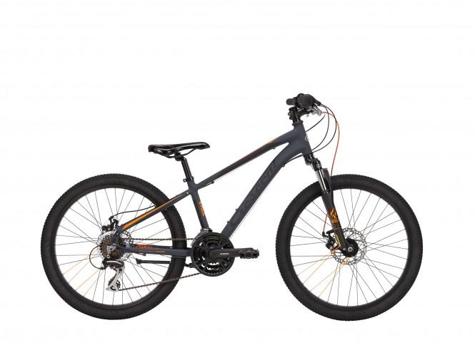 Vale 481, 24 nuorten polkupyörä (21-vaihteinen, Harmaa)