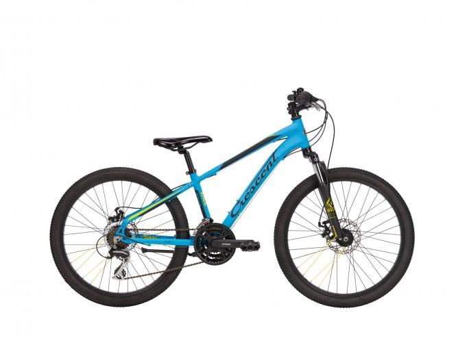 """Vale, 24"""" nuorten maastopyörä (21-v, sininen)"""
