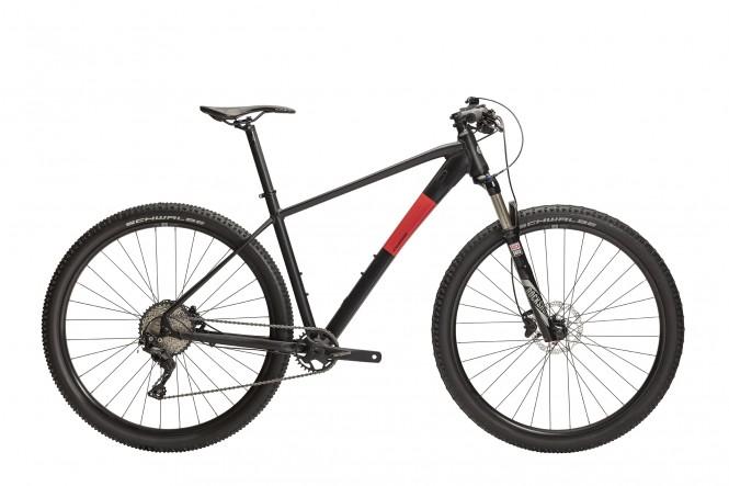 Rask R60 29 etuj. maastopyörä (11-v, mattamusta/punainen)