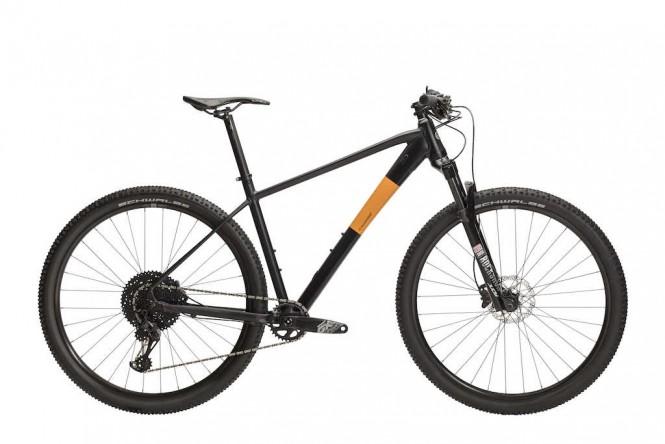 Rask R50 29 etuj. maastopyörä (12-v, mattamusta/oranssi)