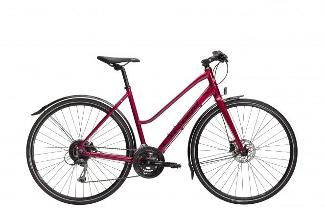 Femto, hybridipyörä (24-v, punainen)