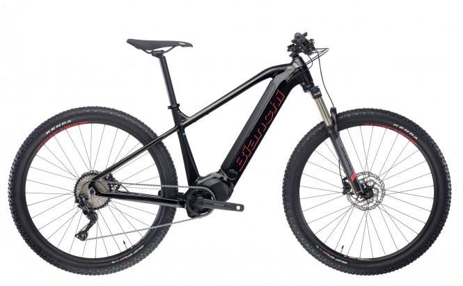 T-Tronik Sport 9.1, etuj. sähkömaastopyörä (10-v, musta-punainen)