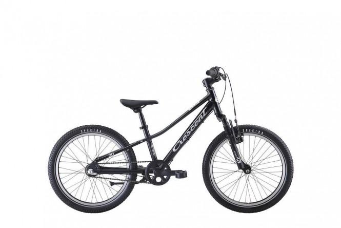 Narre, 20 lasten polkupyörä (3-vaihteinen, Musta)