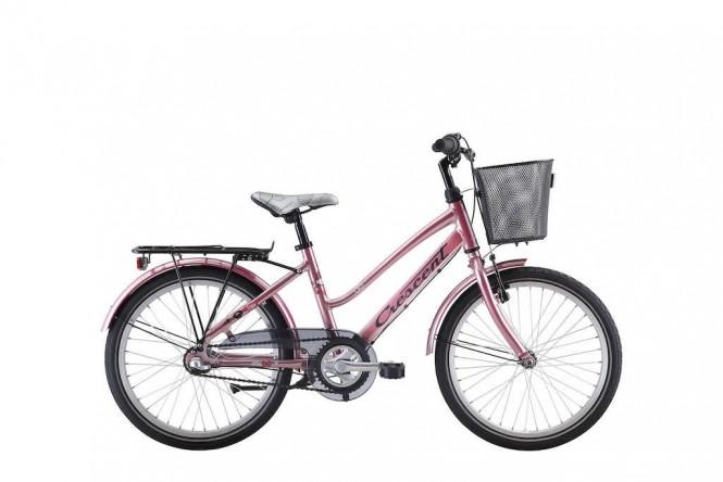 Saga, 20 lasten polkupyörä (3-vaihteinen, Pinkki)