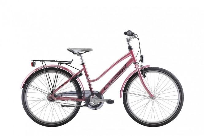 Lone, 24 nuorten polkupyörä (7-vaihteinen, Pinkki)