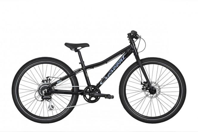Rask R80, 24 lasten polkupyörä (Musta)