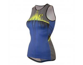 Elite In-R-Cool, naisten triathlonpaita (Vaporize Dazzling Blue)