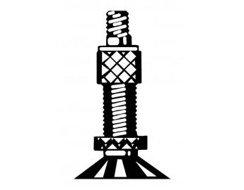 """Polkupyörän sisärengas 16"""" (dunlop, 47/57-305mm)"""
