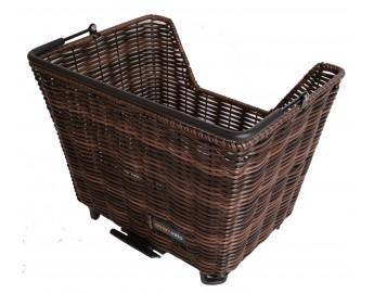 Rottinkikori picnic (ruskea, AVS-kiinnike)