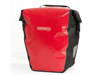 Back-Roller City Pari (40L, punainen/musta)