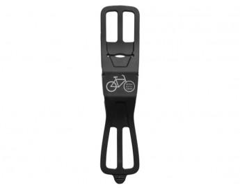 polkupyörän kännykkäteline ohjaustankoon ( silicone)