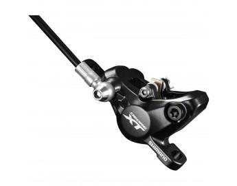XT M8000 polkupyörän hydraulinen levyjarrusatula (etu/taka, musta)