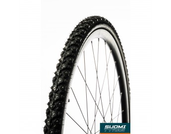 HILE W240, 28 polkupyörän nastarengas (32-622mm, musta, heijastinsivu)
