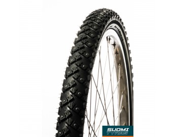 W144, 24 polkupyörän nastarengas (47-507, heijastinsivu)